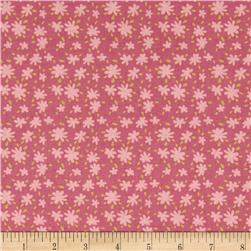 Animal Parade Star Floral Pink