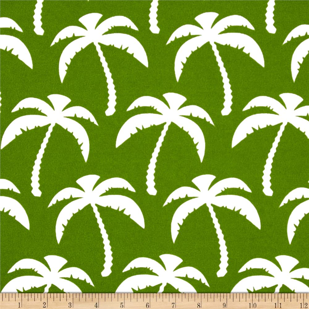 Premier prints indoor outdoor palm bay green discount for Outdoor fabric