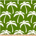 Premier Prints Indoor/Outdoor Palms Bay Green