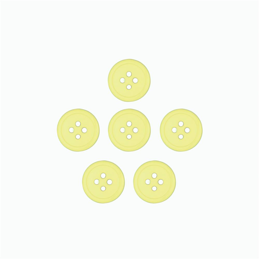Dill Buttons 7/16'' Polyamid Button Yellow