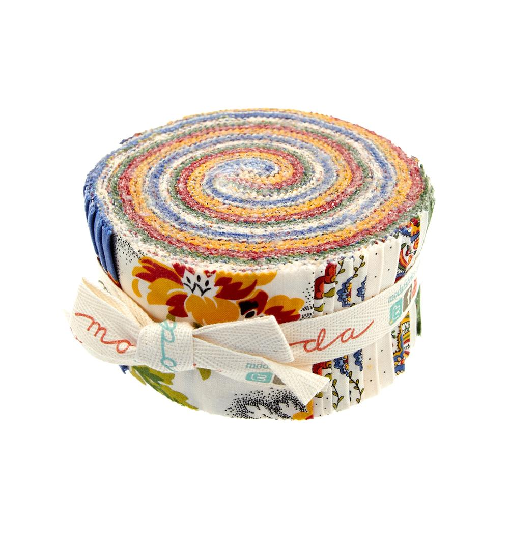 Moda Savonnerie 2 1/2'' Jelly Roll