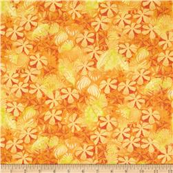 Cherish Tonal Palm Leaf Orange