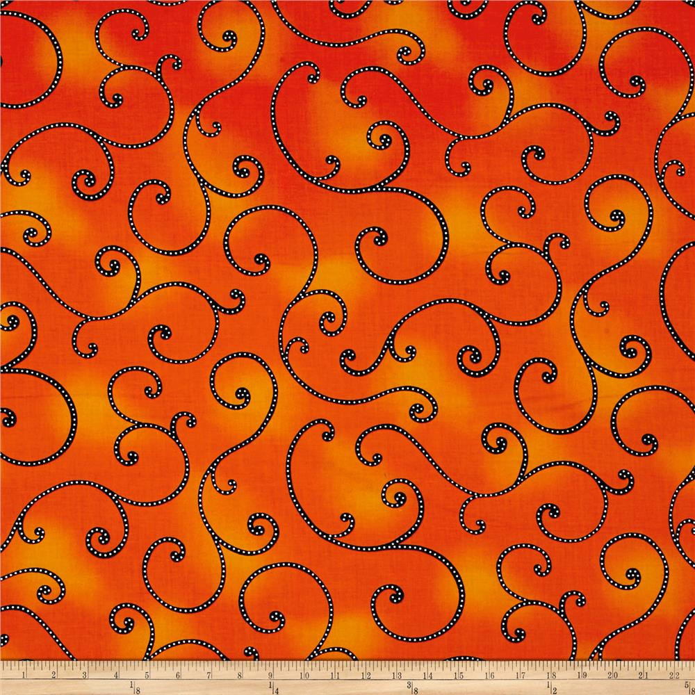 Kanvas Fiesta Curl Orange