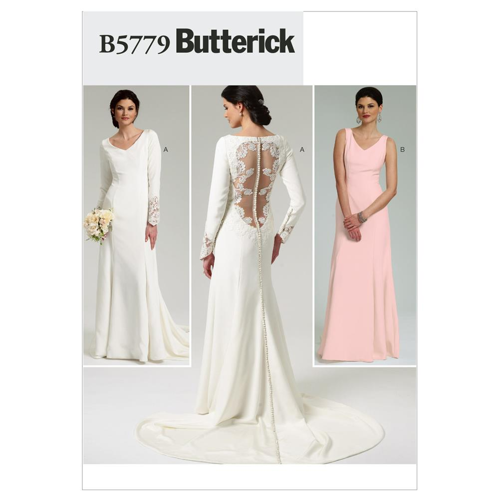 Butterick Misses' Dress Pattern B5779 Size AX5