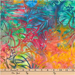 Artisan Batiks Totally Tropical Ferns & Flowers Tropical