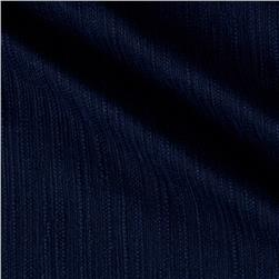 Kaufman Cotton Boucle Solid Midnight
