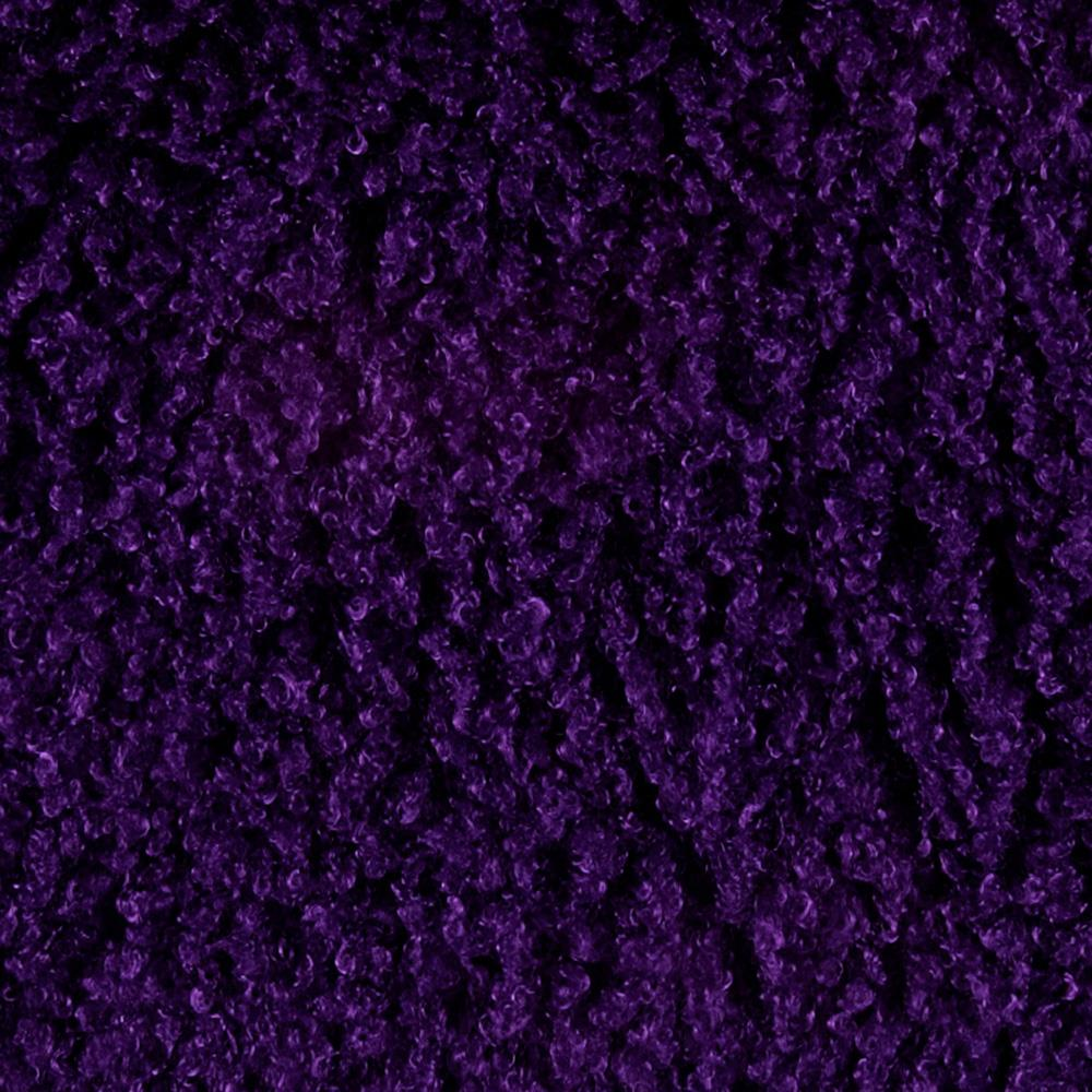 Minky curly llama purple discount designer fabric for Purple baby fabric