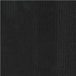 Oil Cloth Solid Black Fabric