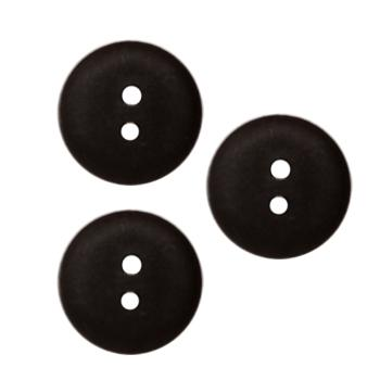 Fashion Button 5/8'' Peoria Black