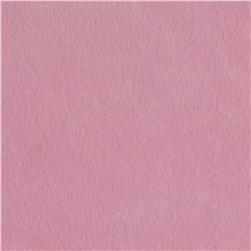 Soft Fur Solid Baby Pink Fabric