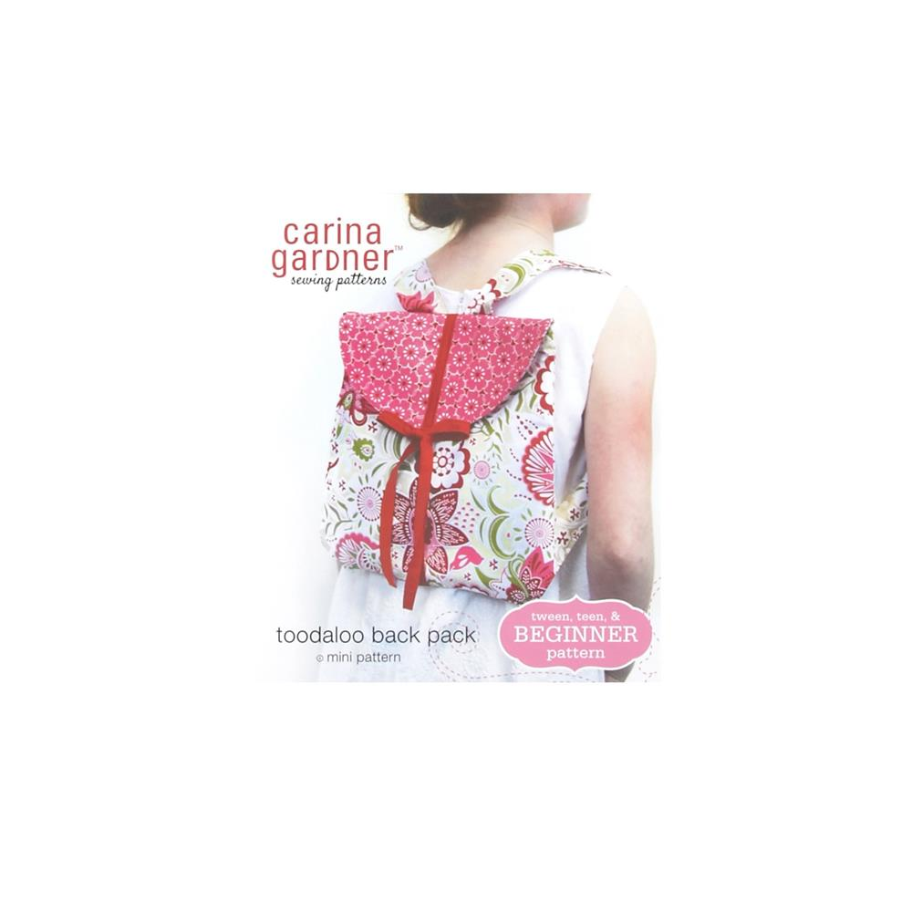 Carina Gardener Toodaloo Back Pack Pattern