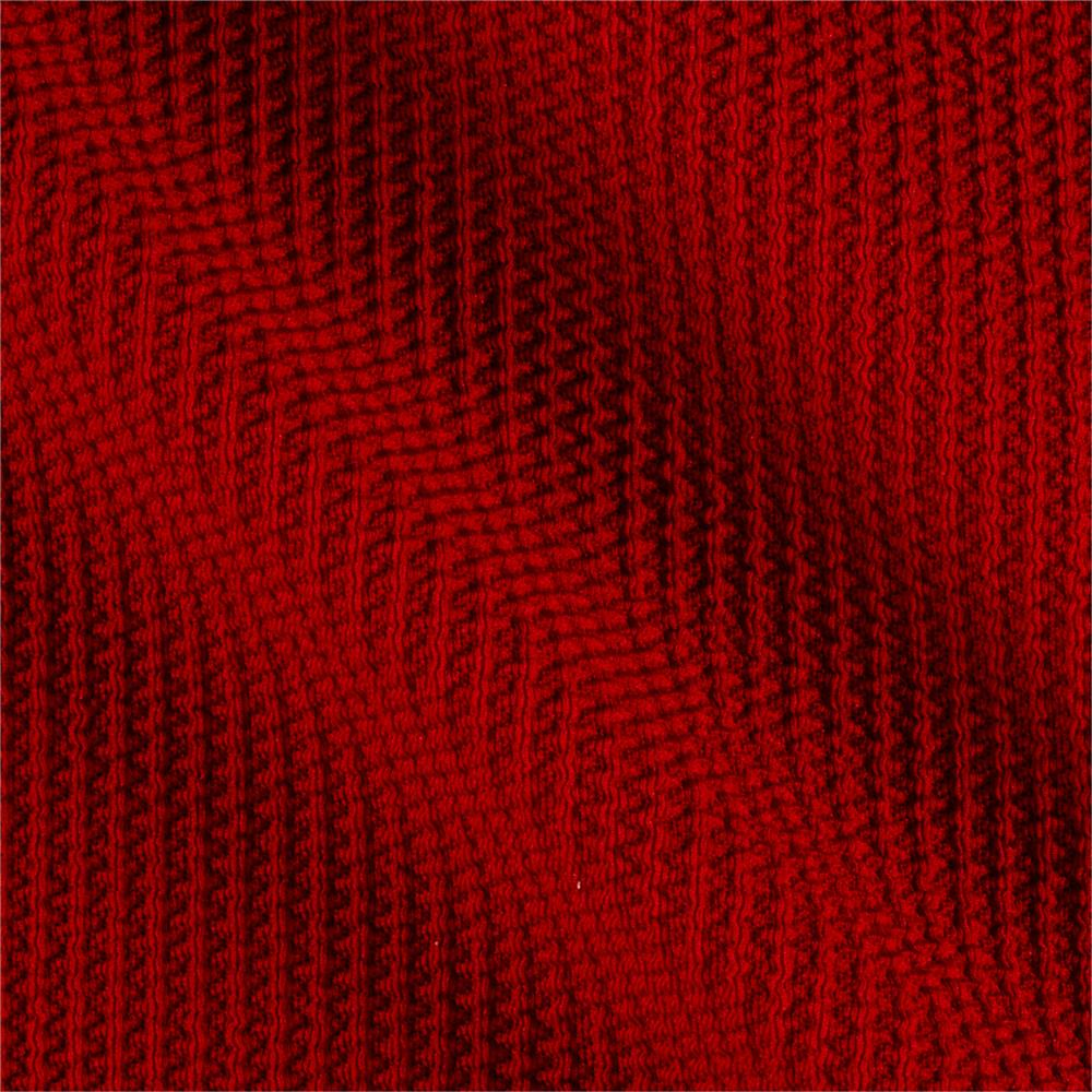 Telio paola pique liverpool knit hermes red discount for Apparel fabric