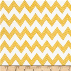 Poppy Patio Chevron Yellow