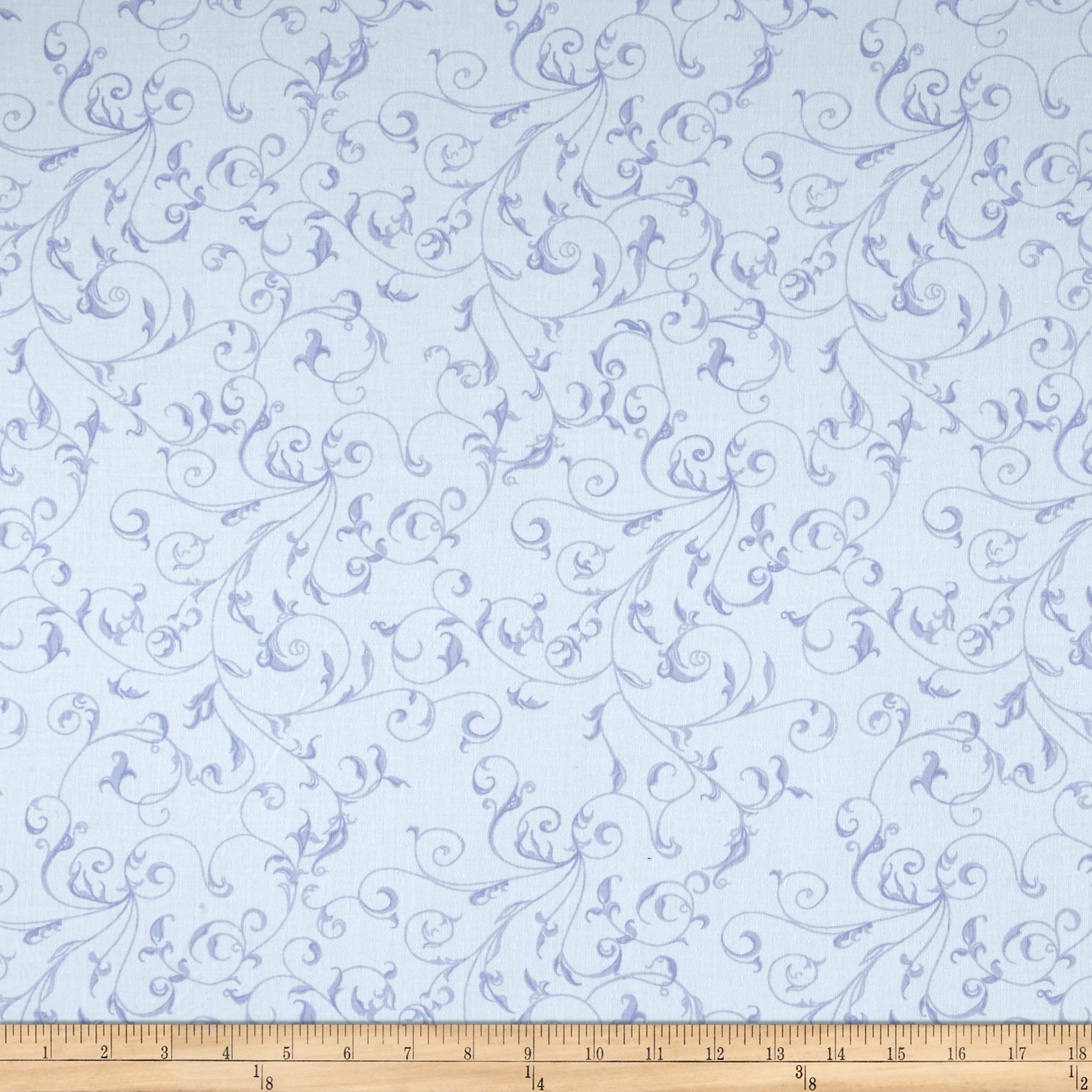 110'' Wide Quilt Back Filigree Sky Fabric by Westrade in USA