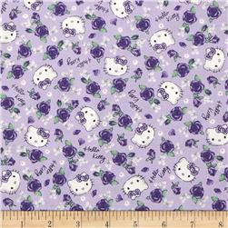 Hello Kitty Roses Lavender