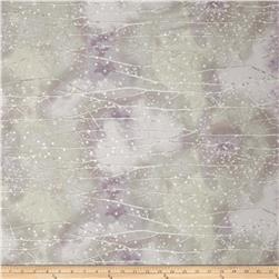 Kaufman Sugar Plum Metallic Branches Dawn