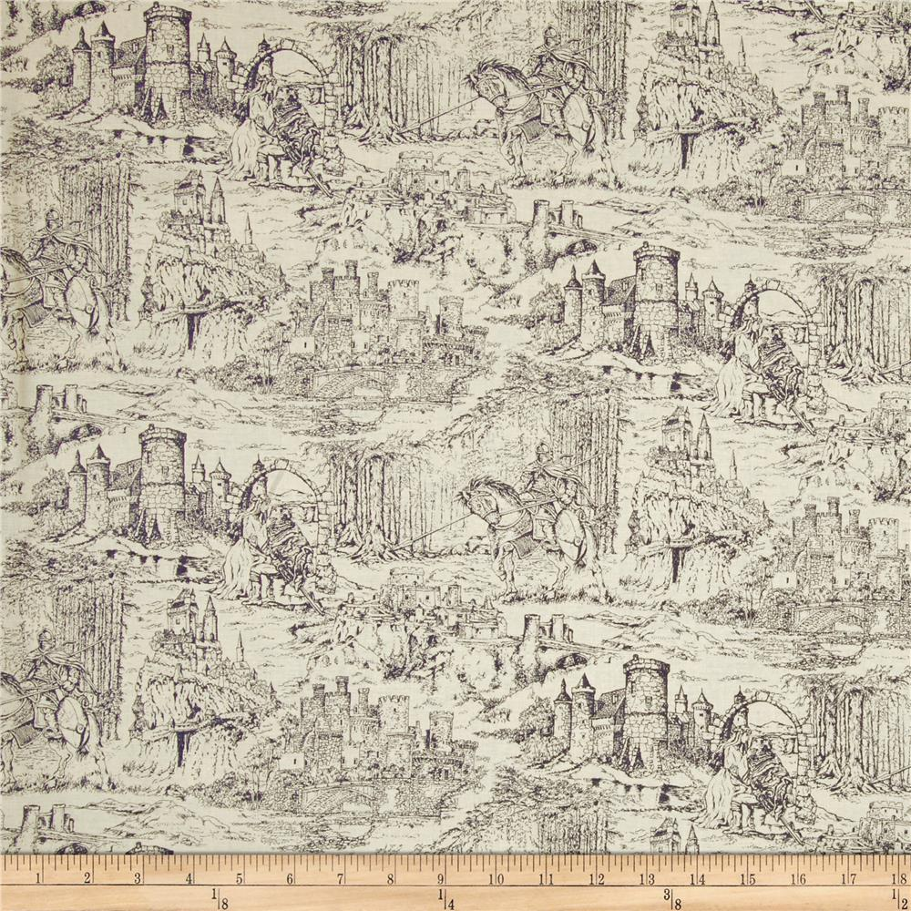Through the Ages Toile Beige