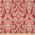 Covington Canturbury Jacquard Antique Red