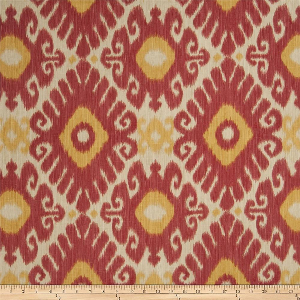Jaclyn Smith 02606 Linen Blend Punch