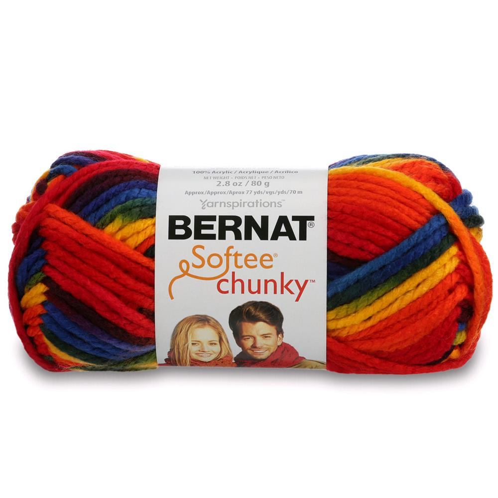 Bernat Softee Chunky Yarn (29134) School Yard