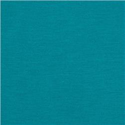 Jersey Knit Solid Dark Turquoise