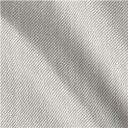 6.2 oz Poly Twill Suiting Silver