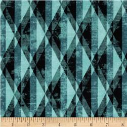 Michael Miller Diamond Prism Teal Fabric