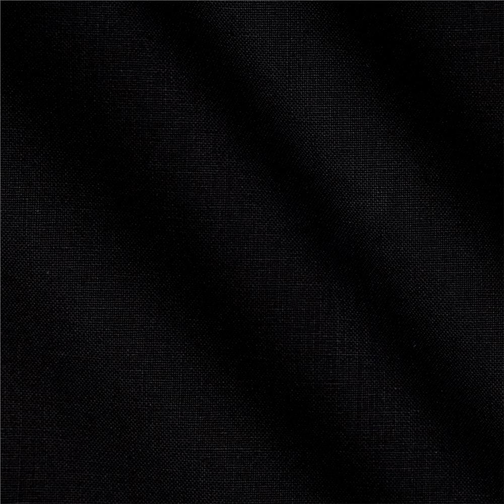 "Kona Cotton Solid 108"" Wide Quilt Back Black"