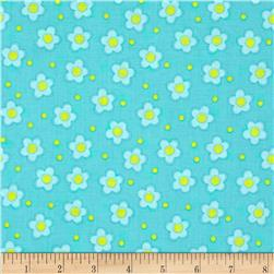 Whoo Loves You Floral Mint/Yellow