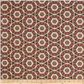 Dwell Studio Indoor/Outdoor Tilescene Coral