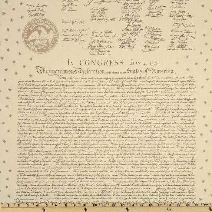 Patriots Declaration of Independence CelebrationTan