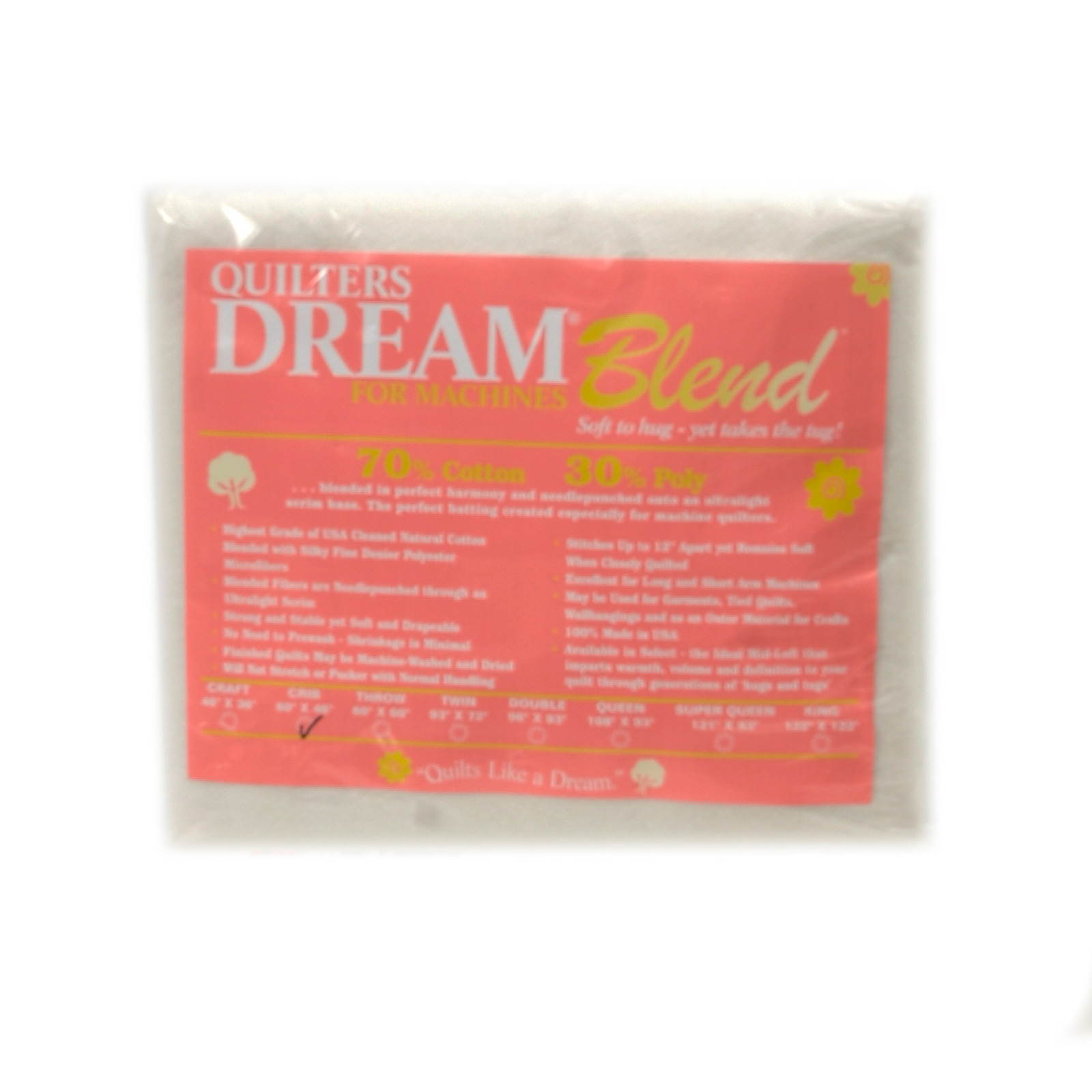 Quilter's Dream Blend (60'' x 46'') Crib by Quilter's Dream in USA