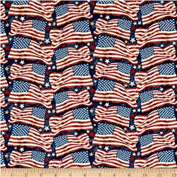 Star Spangled Banner Freedom Flags Navy/Multi