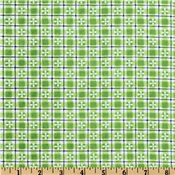 Fanciful Checks Green/Black