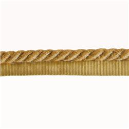 Expo 3/8'' Hilda Twisted Lip Cord Natural