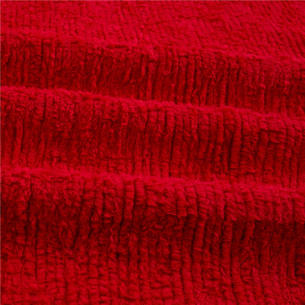 10 Ounce Chenille Red