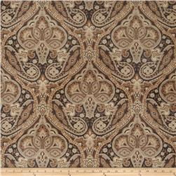 Jaclyn Smith Paisley Tapestry Jacquard Licorice