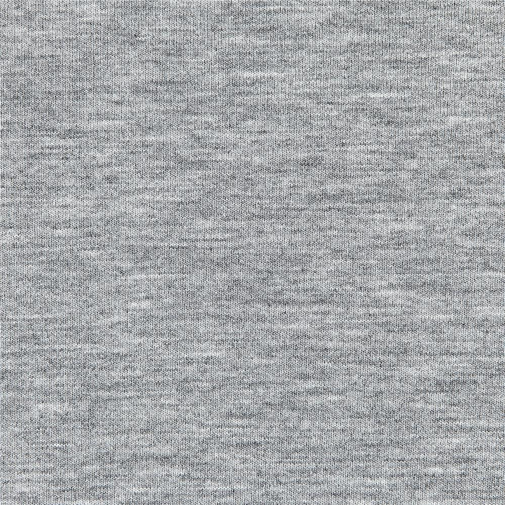 Telio Microbrushed Ponte Knit Light Grey Melange