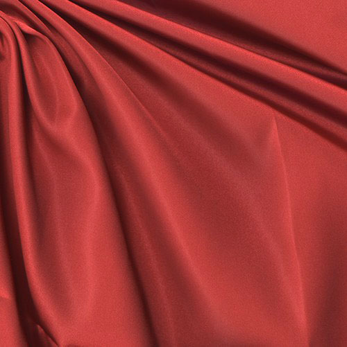 Sweetheart Satin Red Fabric