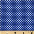Moda Hello Petal Ditty Dots Lovely Blue