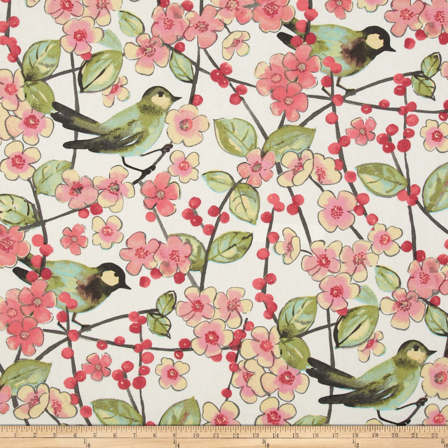 Waverly In the Air Blossom Fabric