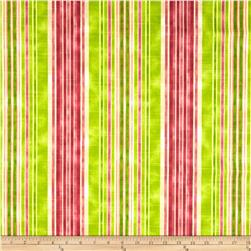 HGTV HOME One Way Stripe Slub Granny Smith