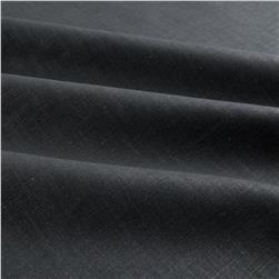 Robert Allen Linen Blend Slub Charcoal Fabric