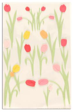 Martha Stewart Crafts Stickers Tulip Pink/Orange