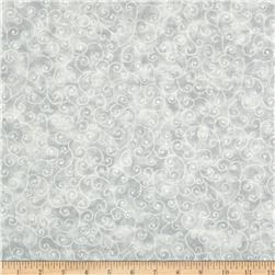 Moda Marble Swirls (9908-80) Pastel Grey Fabric