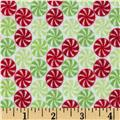 Riley Blake Home for the Holidays Flannel Peppermint Multi