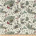 Mary Fons Small Wonders Japan Digital Print In The Garden Cream