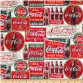 Coca-Cola Vintage Labels Tan