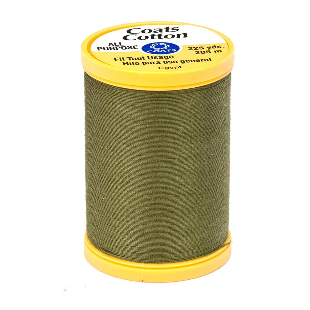 Coats & Clark General Purpose Cotton 225 yd. Bronze Green