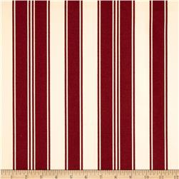Tanya Whelan Petal Home Decor Sateen French Stripe Red